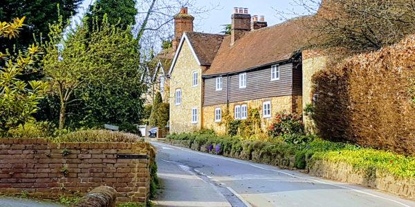 Trottiscliffe village scene